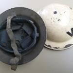 ARP Helmet A and Metal Helmet