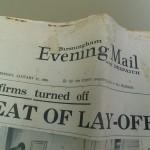 Birmingham Evening Mail Jan 17 1966