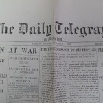 Daily Telegrapn and Morning Post September 4th 1939