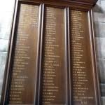 WW1 Memorial St Marys
