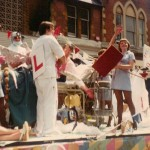 Medical float - possibly 1983 festival