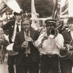 procession at festival in 1980s