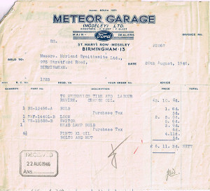 Meteor Ford Bill 1946-s