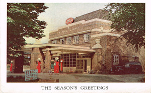 Meteor Ford Xmas card-s