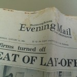 Birmingham Evening Mail Jan 17 1966