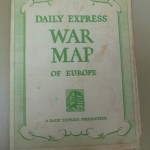 Daily Express War Map of Europe