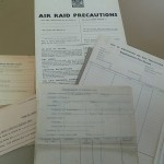 Folder A - Air Raid Instructions and Forms