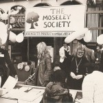 Moseley society stall at 1980s festival