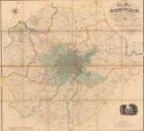 Blood Map of Birmingham 1857